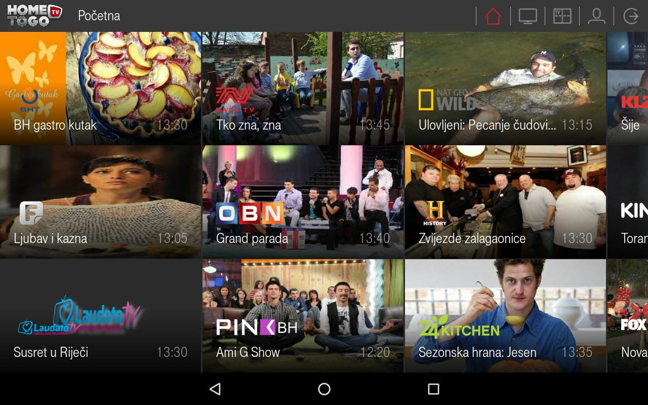 HOME TV TO GO for Android - APK Download