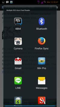 Multiple RSS Atom Feed Reader apk screenshot