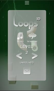 Loops 3D poster