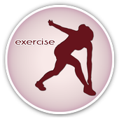 Belly Fat Burn Exercise Guide icon