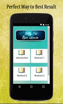 Belly Fat Burn Exercise Guide apk screenshot