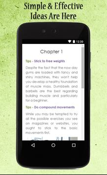 Bodybuilding Tips apk screenshot