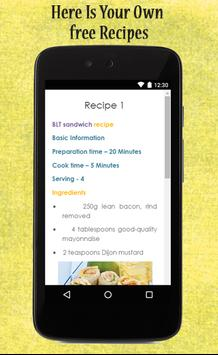 Sandwich Recipes Guide apk screenshot