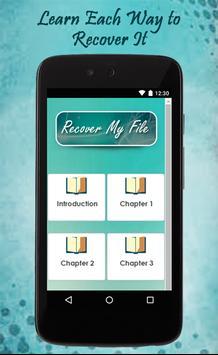 Recover My File Guide screenshot 1