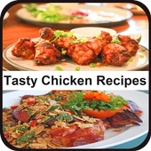 Quick And Easy Tasty Chicken Recipes icon