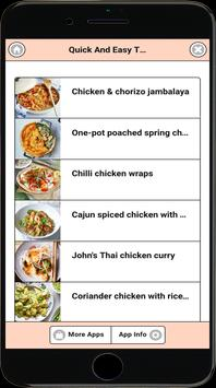 Quick And Easy Tasty Chicken Recipes poster