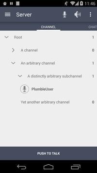 Plumble - Mumble VOIP (Free) screenshot 2