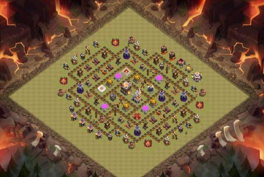 Best Base Maps COC TH11 apk screenshot