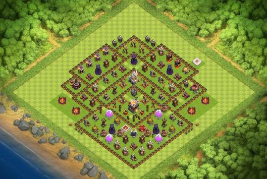 Best Base Maps COC TH11 poster