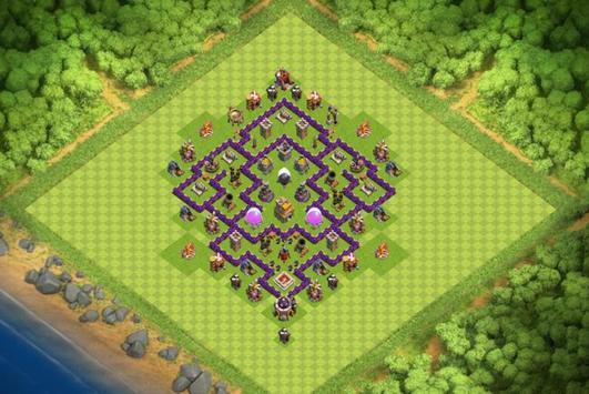 Best Base Maps COC TH7 screenshot 2