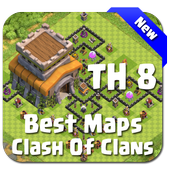 Best Base Maps COC TH8 icon