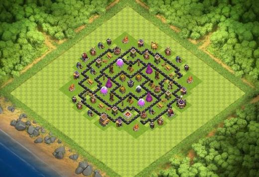 Best Base Maps COC TH8 screenshot 1