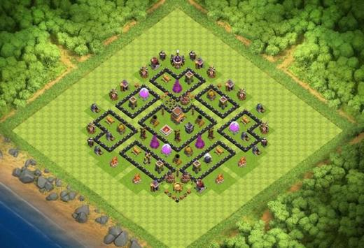 Best Base Maps COC TH8 screenshot 2