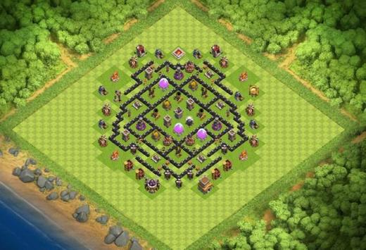 Best Base Maps COC TH8 screenshot 3