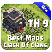 Best Base Maps COC TH9 icon