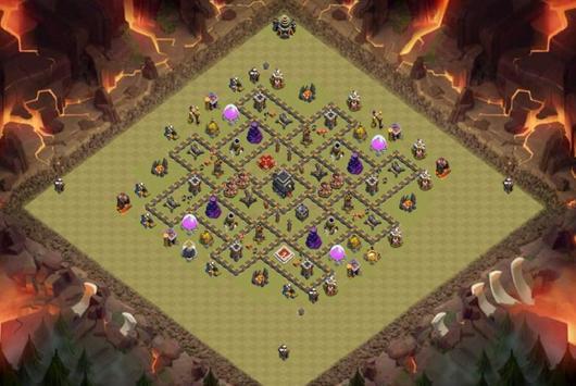 Best Base Maps COC TH9 screenshot 4