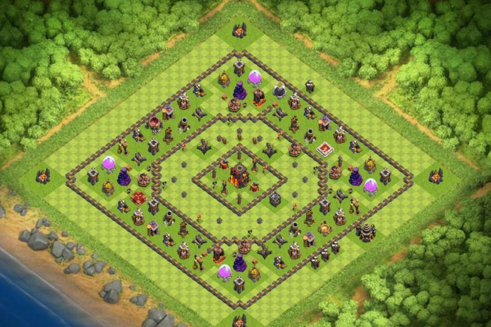 Maps COC TH 10 Farming Base for Android - APK Download