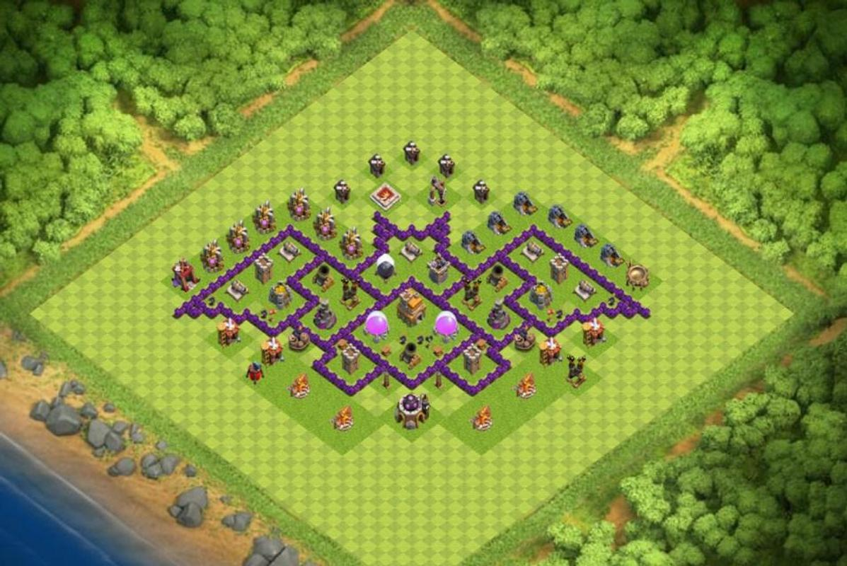 Map Coc Th 7 Farming Base For Android Apk Download