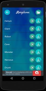 MorphVox AV Pro Voice Changer screenshot 2
