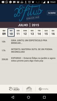 FITUB 2015 Festival de Teatro poster