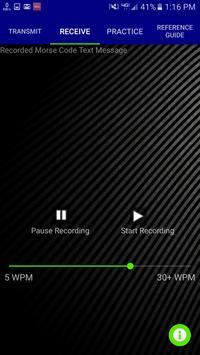 Morse Code Transceiver screenshot 2