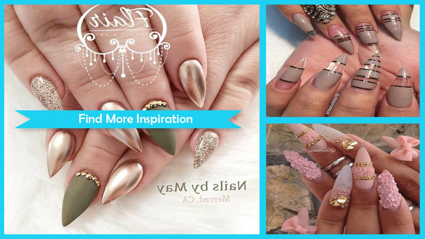 Cool Stiletto Nails Designs Apk