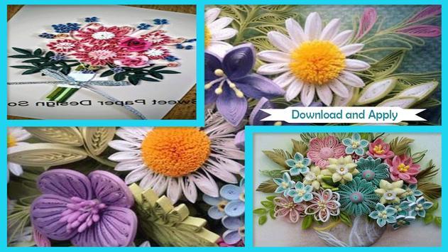 Beauty Quilled Floral Bouquet screenshot 2
