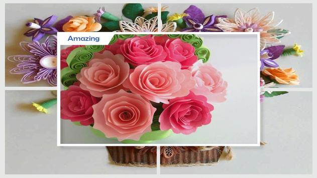 Beauty Quilled Floral Bouquet screenshot 4