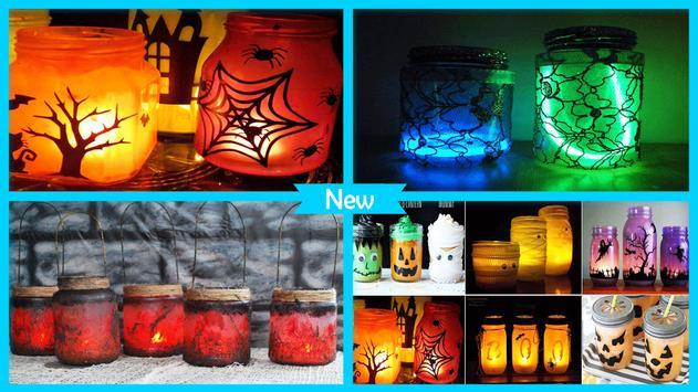 DIY Mason Jar Laterns For Halloween Decoration screenshot 3