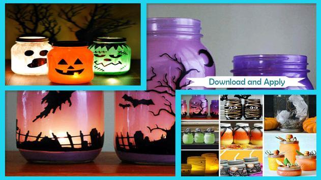 DIY Mason Jar Laterns For Halloween Decoration poster