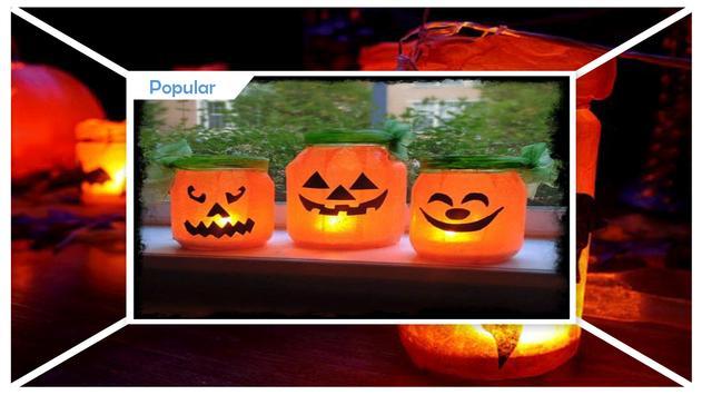 DIY Mason Jar Laterns For Halloween Decoration screenshot 1