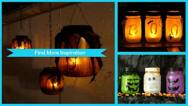 DIY Mason Jar Laterns For Halloween Decoration screenshot 4