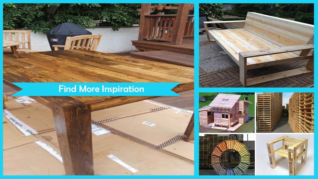 DIY Wooden Pallet Furniture poster