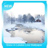 Snow in London Live Wallpaper icon