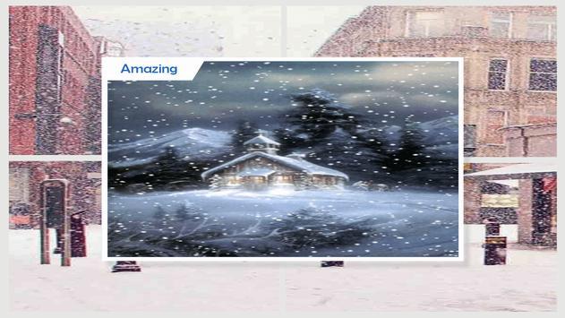 Snow in London Live Wallpaper apk screenshot