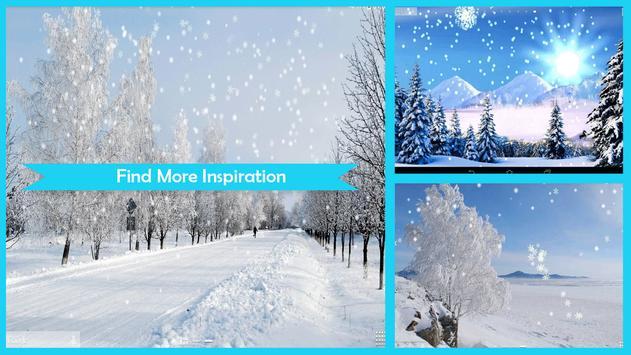 Snow Live Wallpaper HD apk screenshot