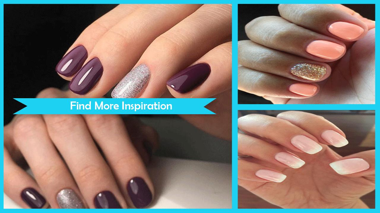 Shellac Nails Design Ideas poster