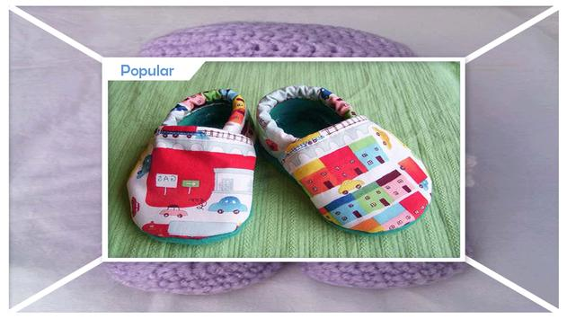 Simple DIY Crochet Baby Slipper screenshot 2
