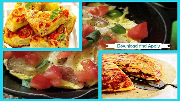 Simple Tortilla Potato Omelet Recipe poster