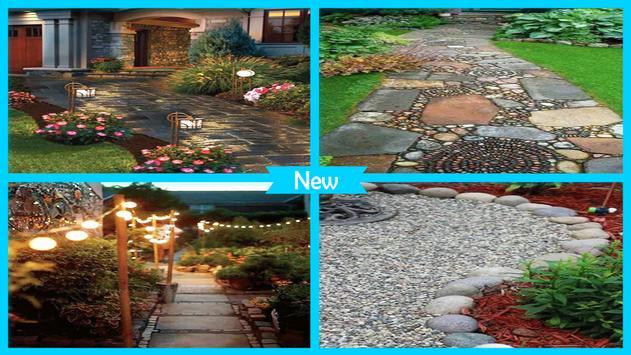 Stunning DIY Walkway Ideas apk screenshot