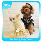 Pet Puppy Party Dress icon
