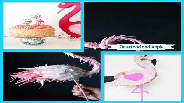 Perfect DIY Flamingo Pinata poster