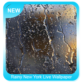 Rainy New York Live Wallpaper icon