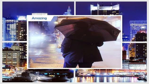 Rainy New York Live Wallpaper screenshot 1