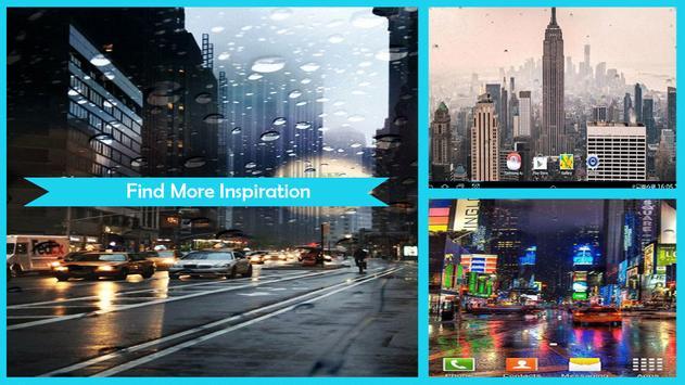 Rainy New York Live Wallpaper screenshot 2