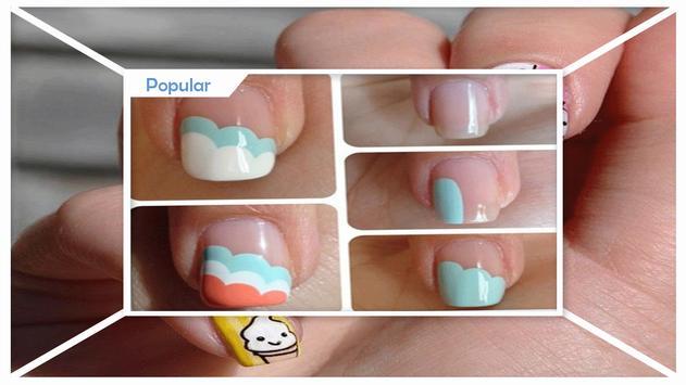 Unique DIY Ice Cream Cone Nail Art screenshot 1