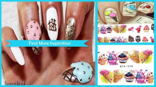 Unique DIY Ice Cream Cone Nail Art screenshot 4