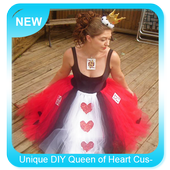 Unique DIY Queen of Heart Custome icon