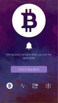 Free Bitcoin Miner screenshot 1