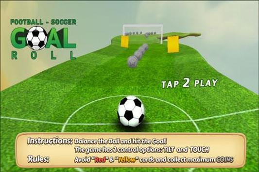 Ball Roll : 3D Goal Roll poster